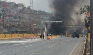 Disturbios en Puente Piedra: Fiscalía denuncia a 25 personas que participaron en protesta