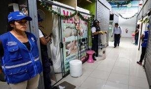 Cercado de Lima: clausuran centros de masajes y terapia física que funcionaban como prostíbulo