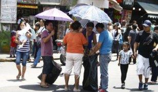 Lima registró hoy la temperatura más alta del verano