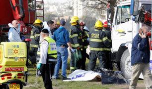 Ataque terrorista en Jerusalén deja al menos cuatro muertos
