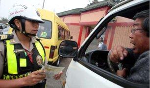 Coima hacia policías será sancionada con hasta ocho años de prisión