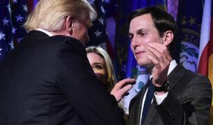 Donald Trump designa a su yerno como asesor en la Casa Blanca