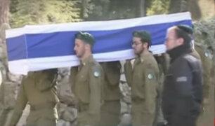Israel: entierran a los cuatro soldados asesinados en Jerusalén