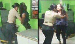 Ica: mujer ebria protagonizó escándalo dentro de comisaría