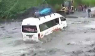 Las lluvias continúan causando estragos al interior del país