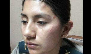 Así terminó policía tras ser agredida por mujer en estado de ebriedad