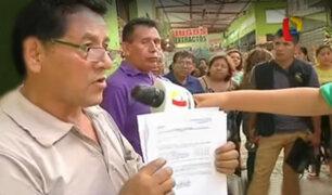 Los Olivos: continua disputa de dirigentes por administración del Mercado Covida
