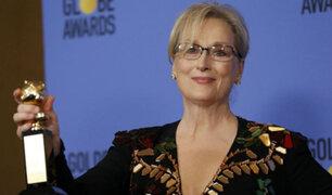 Hollywood respalda a Meryl Streep tras mensaje contra Donald Trump