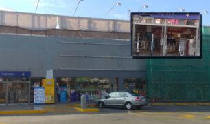 Los Olivos: nuevo asalto a centro comercial bajo modalidad del 'combazo'