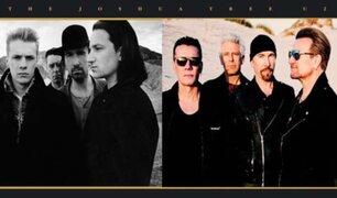 "U2 celebra los 30 años de ""The Joshua Tree"" con gira mundial"