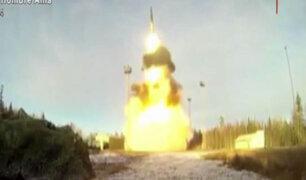 Rusia: Se lanzarán más de 10 misiles intercontinentales de prueba