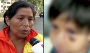 Operaron a niño que fue agredido por trabajador municipal de VMT