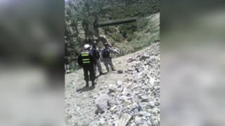 Indignante: turistas hallan cadáver de bebé recién nacida en Otuzco