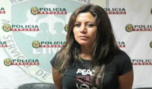 Liberan a mujer que agredió a policía durante intervención en Chorrillos