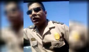 Piura: conductor denuncia a policía por abuso de autoridad