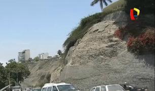 Chorrillos: acantilado en la Costa Verde está a punto de colapsar