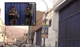 Ate Vitarte: Policía realiza operativo contra tráfico de drogas