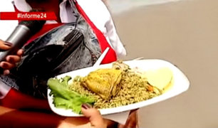 Alimentos que se venden en playas de Lima están contaminados