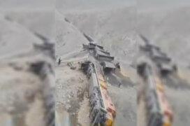 Huarochirí: al menos 8 heridos tras descarrilamiento de tren en Matucana
