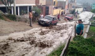 Santa Eulalia: piden maquinaria para limpiar vías afectadas por huaicos