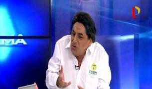 'Alejandro Choledo' indignado por vínculos con caso Odebrecht