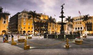 Municipalidad de Lima: serenata por el 482° aniversario de la capital
