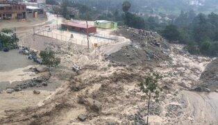 Huaico afectó a más de 100 viviendas en Santa Eulalia, Chosica y Huarochirí