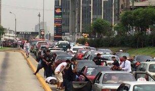 Vía Expresa: disparos durante intervención policial alertaron a transeúntes