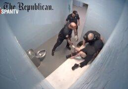 Tres policías son despedidos tras brutal golpiza a detenido en Estados Unidos