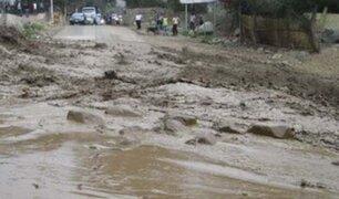 Santa Eulalia: tránsito en Carretera Central está restringido por nuevo huaico