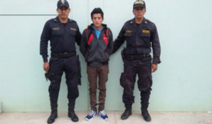 Lambayeque: detienen a presunto violador de menor de 13 años