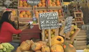 Precios de frutas se incrementa tras huaico en la selva central
