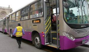Corredor SJL: presentan buses para nuevos servicios 404 y 405
