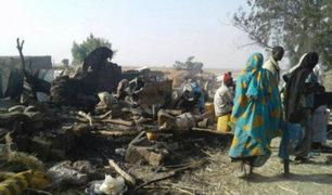 Militares bombardean por error campo de refugiados en Nigeria