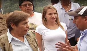 Santa Eulalia: parlamentarios visitaron zonas afectadas por huaicos