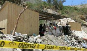 Arequipa: ocho mineros quedaron atrapados en socavón