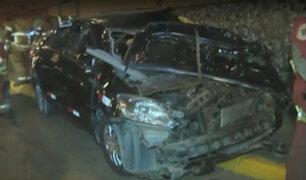 Taxista que perdió brazo en Miraflores se encuentra en cuidados intensivos