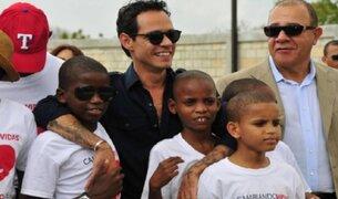Marc Anthony abrirá albergue para niños víctimas de abuso en Puerto Rico