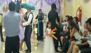 Novios e invitados terminaron intoxicados en boda