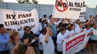 La Molina: realizan nueva protesta contra peaje de Separadora Industrial
