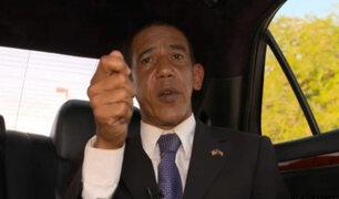 Imitador de Barack Obama también se despide de la Casa Blanca
