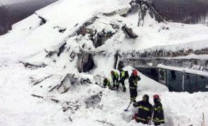 Continúa búsqueda de desaparecidos tras avalancha en hotel de Italia