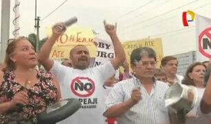 Vecinos de Lima Este anuncian marcha al Congreso en protesta por peaje