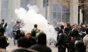 EEUU: protestas contra presidente Trump dejan 90 detenidos