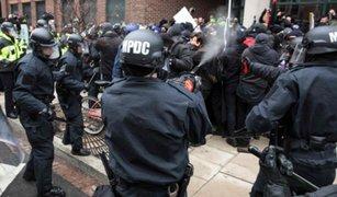 Las violentas protestas tras toma de mando de Donald Trump