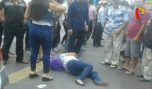 Breña: sujeto dispara y mata a su esposa en plena avenida Alfonso Ugarte