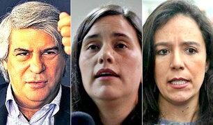 Comisión Lava Jato citaría a Fernando Olivera, Verónika Mendoza y Marisa Glave