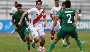 Perú cayó 2-0 ante Bolivia por el Sudamericano Sub 20