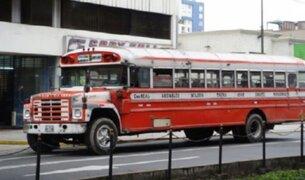 Vehículos de más de 30 años de antigüedad ya no podrán circular en Lima