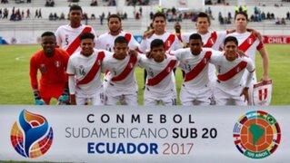 Perú vs. Venezuela chocan hoy por el Sudamericano Sub 20 a las 5 p.m.